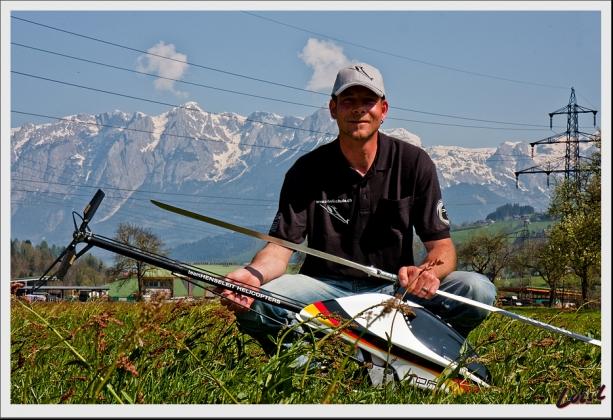 Stefan Segerer professioneller RC-Fluglehrer